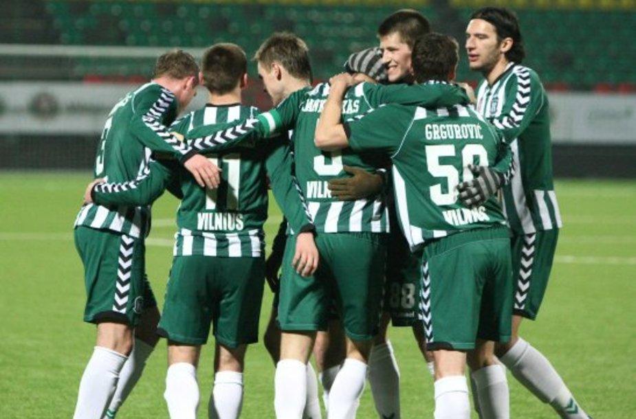 """VMFD """"Žalgirio"""" futbolininkai"""