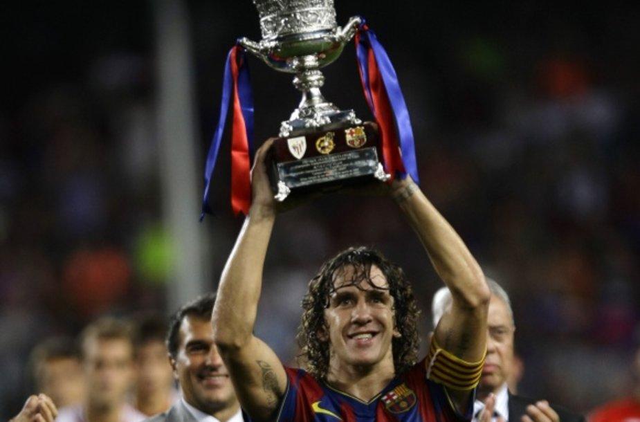 """Supertraurės prizu """"Barcelona"""" klubas džiaugėsi aštuntą kartą klubo istorijoje"""
