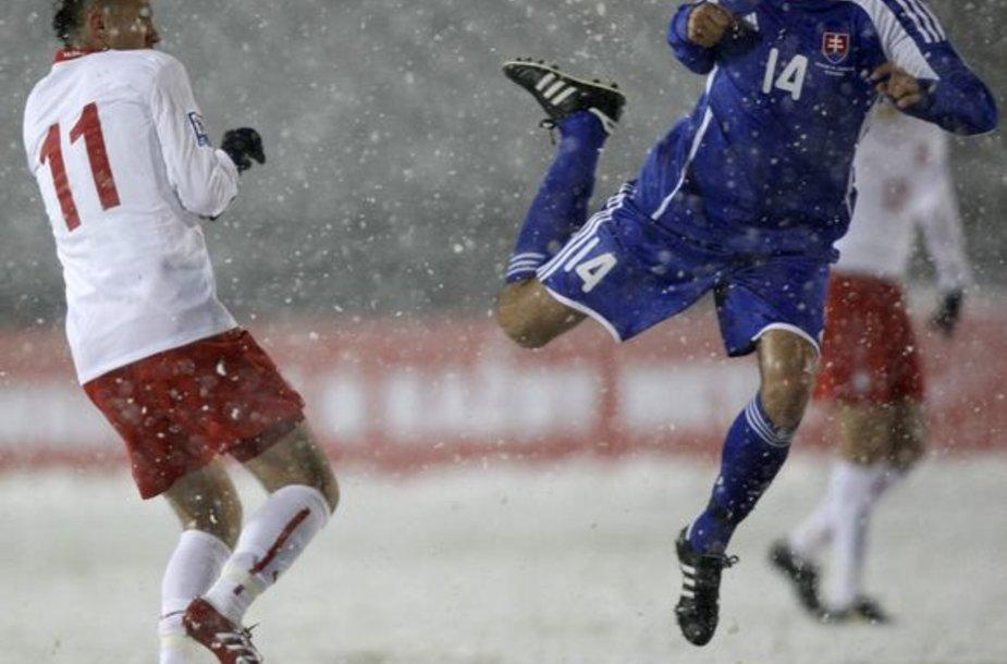 Slovakijos futbolo rinktinė (mėl. apr.) pirmą kartą nepriklausomos šalies istorijoje žais pasaulio čempionate