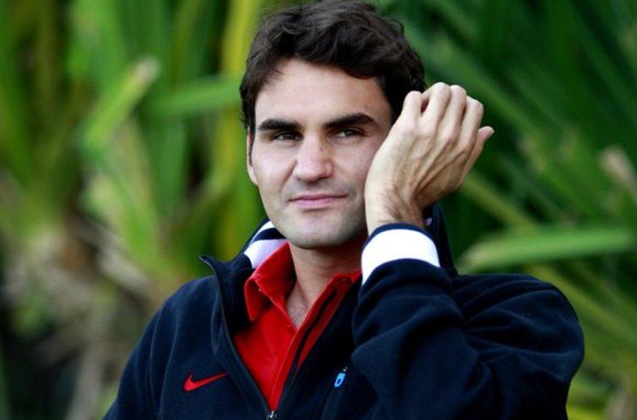 R.Federeris susirgo kvėpavimo takų uždegimu
