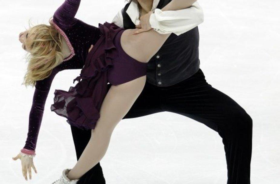 Isabella Tobias ir Deividas Stagniūnas kvalifikacijoje pasiekė geriausią sezono rezultatą.