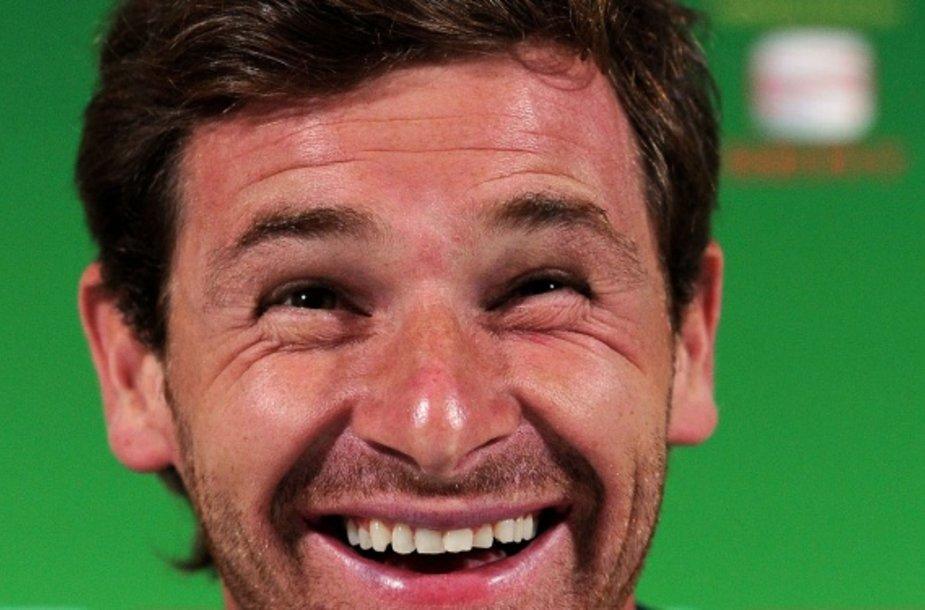 Andre Villas-Boasas Londone uždirbs po 5 mln. eurų per sezoną.