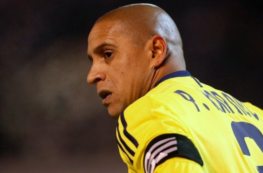 Roberto Carlosas Rusijos futbolo čempionate patyrė antrą rasistinį išpuolį.