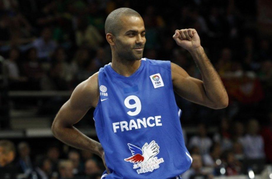 Tony Parkeris įkalbinėja krepšininkus padėti Prancūzijos rinktinei ir ateityje.