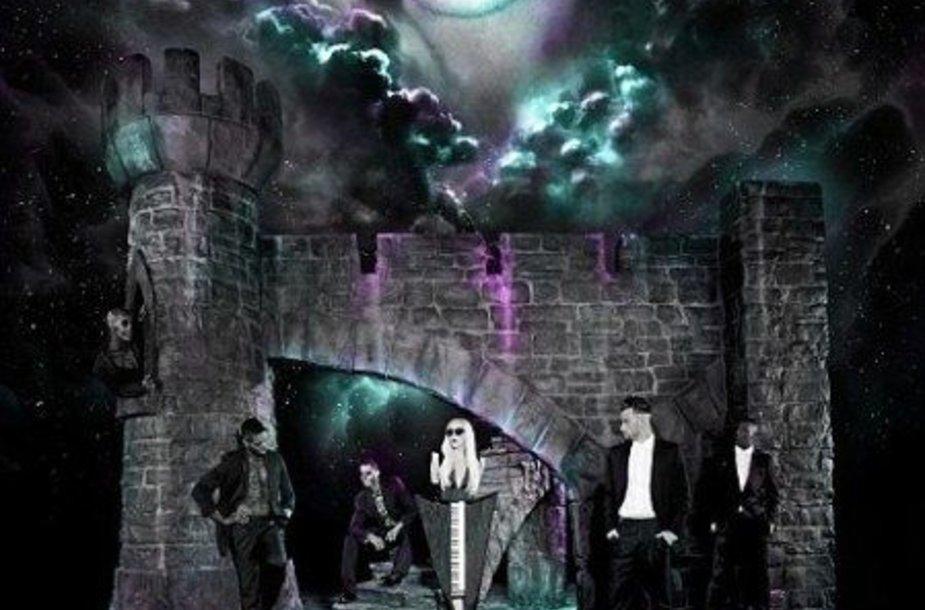 Naujojo Lady Gagos koncertinio turo plakatas