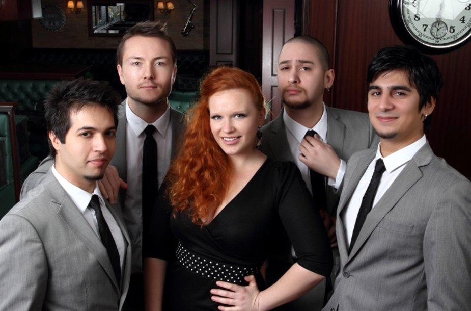 Donata Virbilaitė ir jos turkų muzikantai