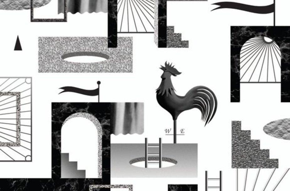 """Architektūros fondo paskaitų ciklo """"SHOW OFF: Reginio architektūra"""" plakatas"""