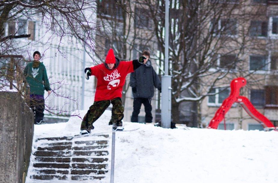 Geriausi Lietuvos snieglentininkai šeštadienį renginiu stengsis sudominti ne tik snieglenčių gerbėjus, bet ir iki šiol jų nebandžiusius vilniečius.