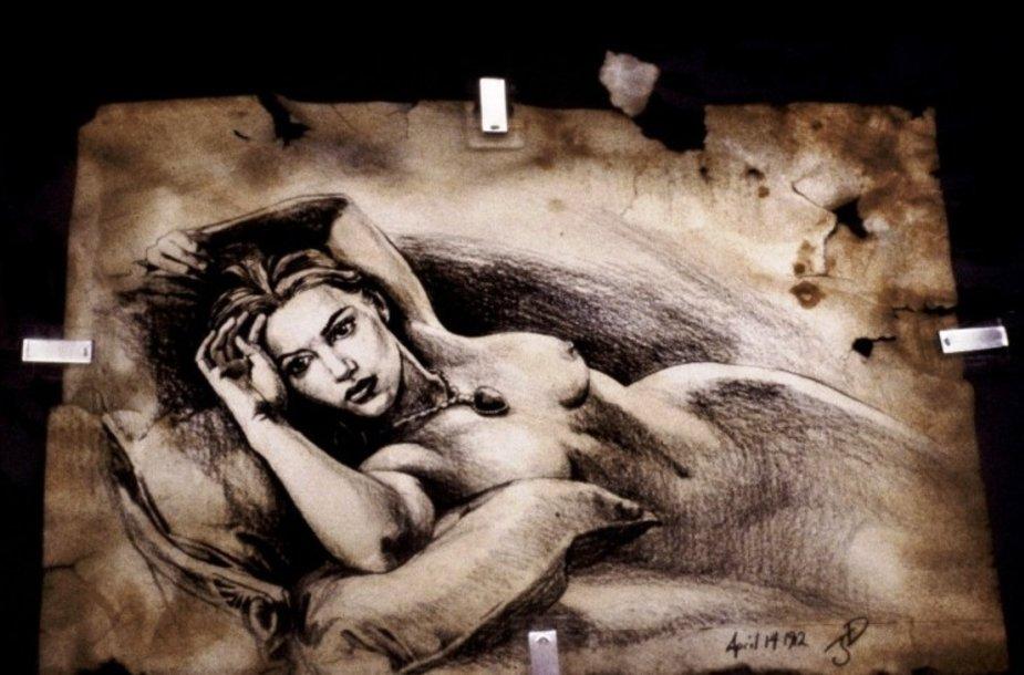 Jameso Camerono pieštas eskizas