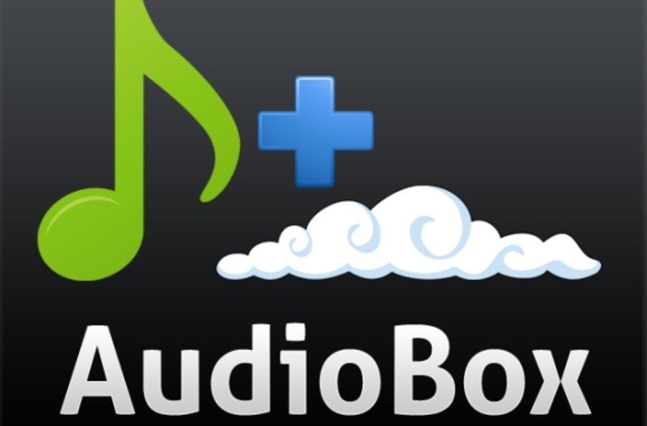 Internetinis muzikos grotuvas AudioBox.fm.