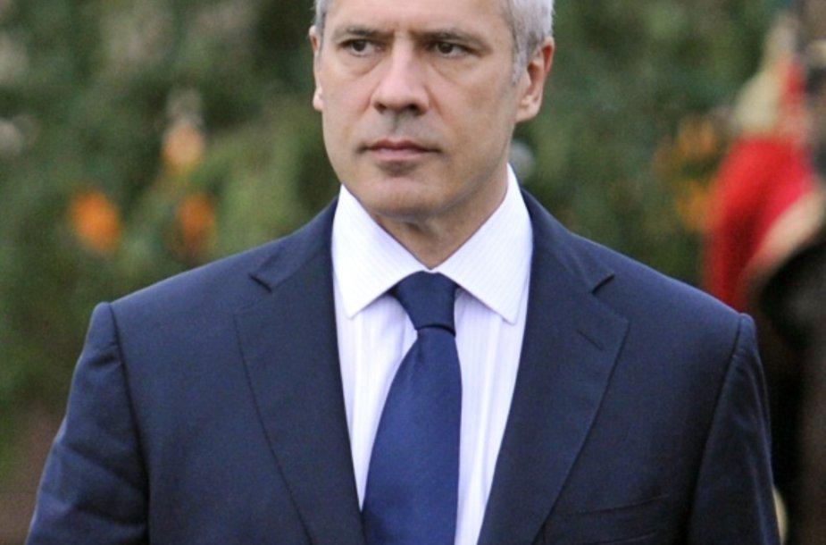 Serbijos prezidentas Borisas Tadičius.