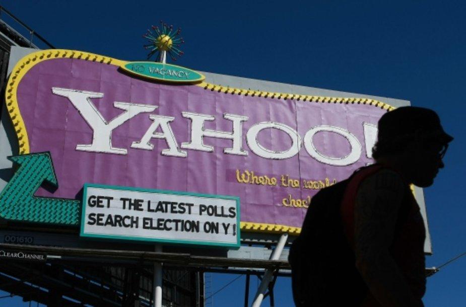 """""""Yahoo"""" reklama."""