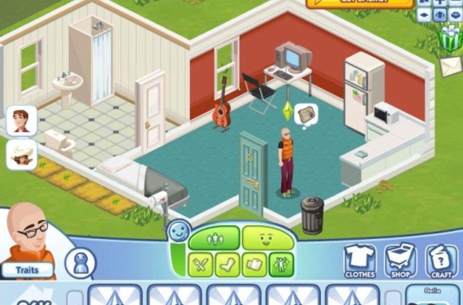 """Žaidimas """"The Sims Social"""""""