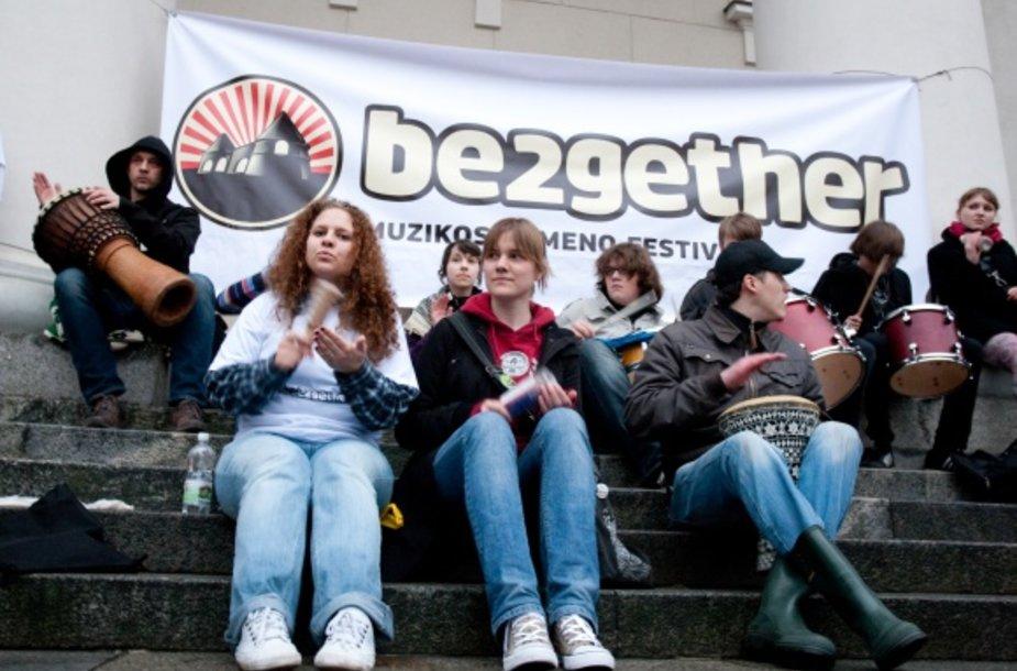 """2010-aisiais """"Be2gether"""" pateko į finalinį dešimtuką Europos festivalių apdovanojimuose."""
