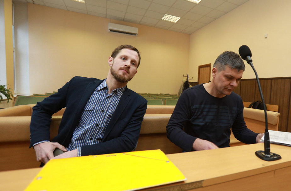 Darius Staliauskas ir Viačeslavas Butrymas