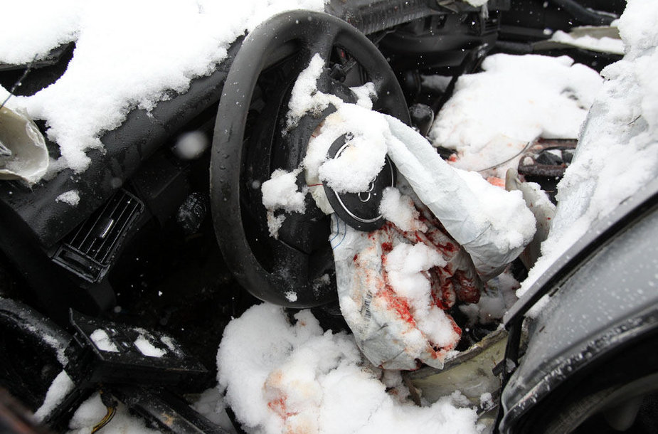 Audi po avarijos