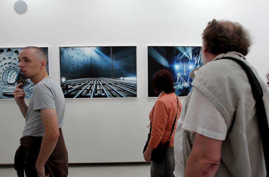 Luca Zanier fotografijos parodos atidarymas