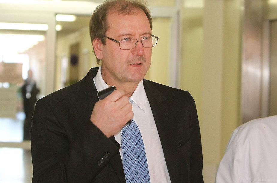 Viktoras Uspaskichas išrašomas iš ligoninės
