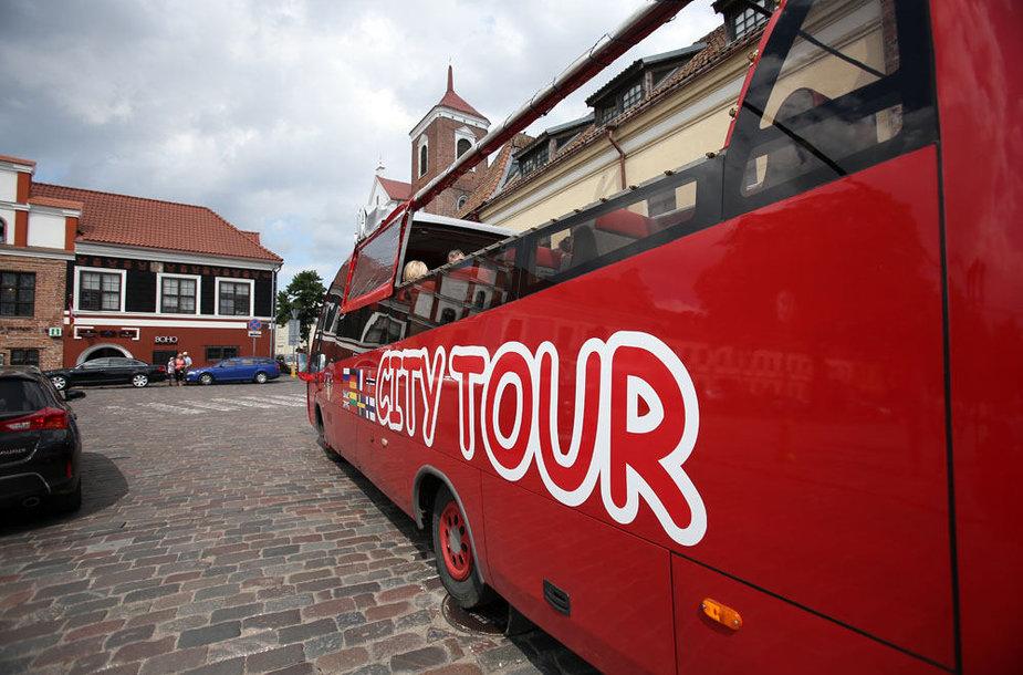 Turistinis autobusas Kaune