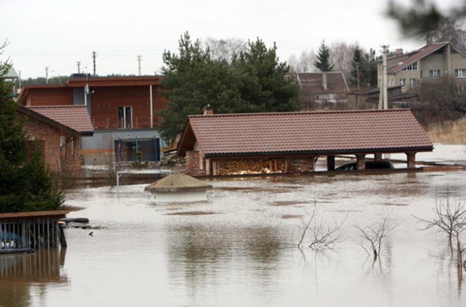 Potvynis Kaune
