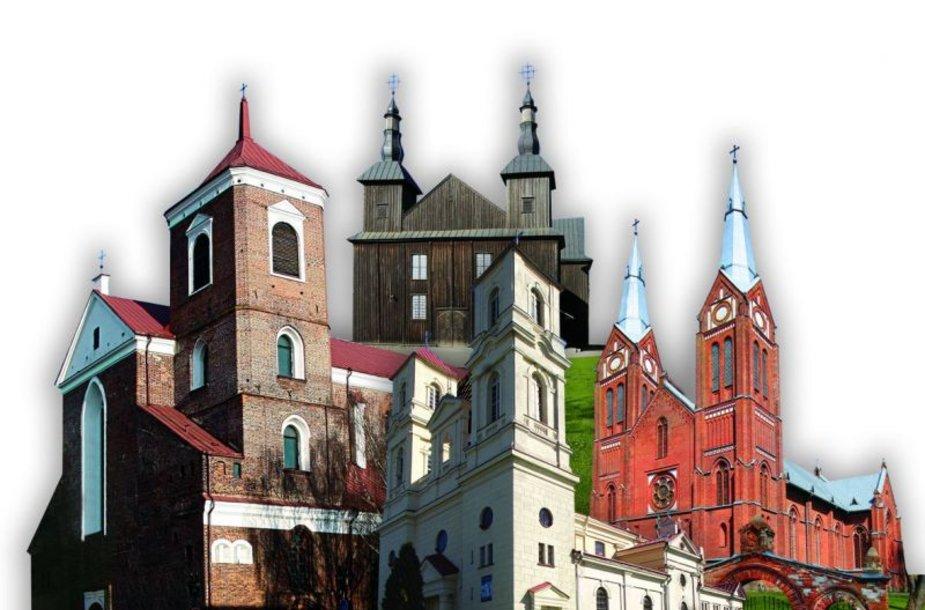 Albume aprašytos įvairios Kauno arkivyskupijoje esančios bažnyčios.