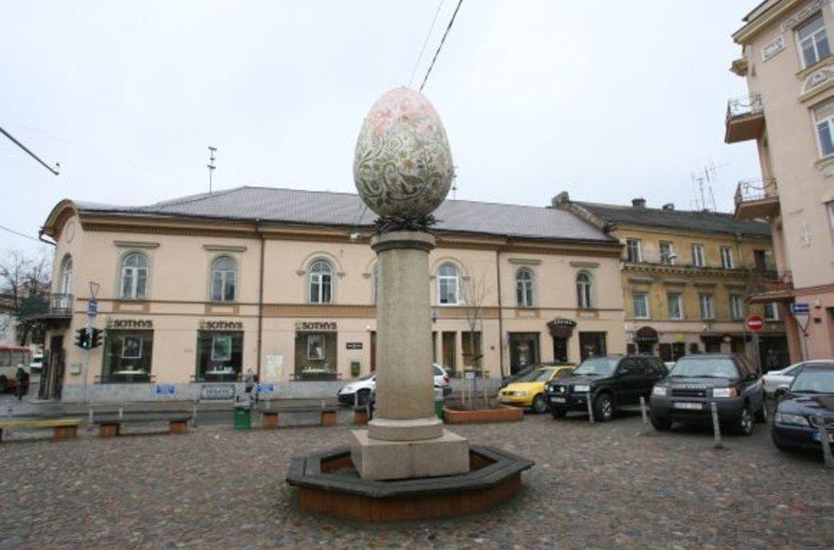"""Paskutinį kartą """"Margutis"""" buvo restauruotas 2007-ųjų balandį. Nuo to laiko skulptūros niekas netvarkė."""
