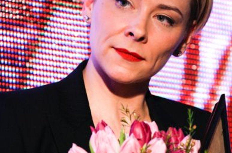 Jurga Karčiauskaitė-Lago išrinkta metų klaipėdiete.