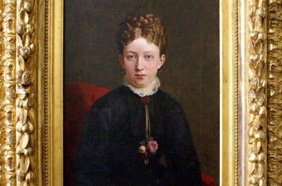 """Frydrichas Krauzo (1826–1894) """"Merės Džeinės Šoj portretas"""" taip pat bus eksponuojamas parodoje."""
