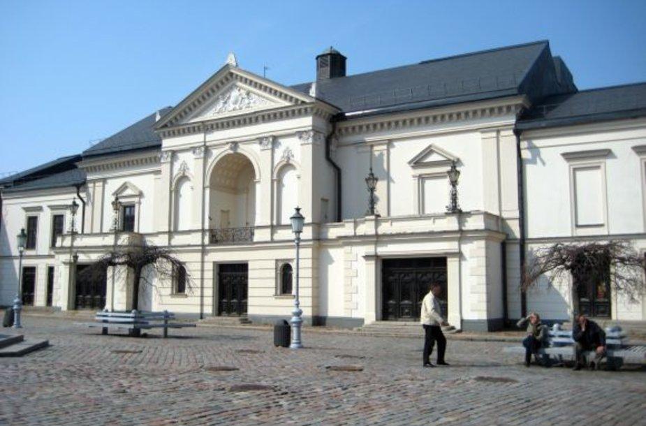 Klaipėdos dramos teatras po rekonstrukcijos beveik nepakeis išvaizdos.