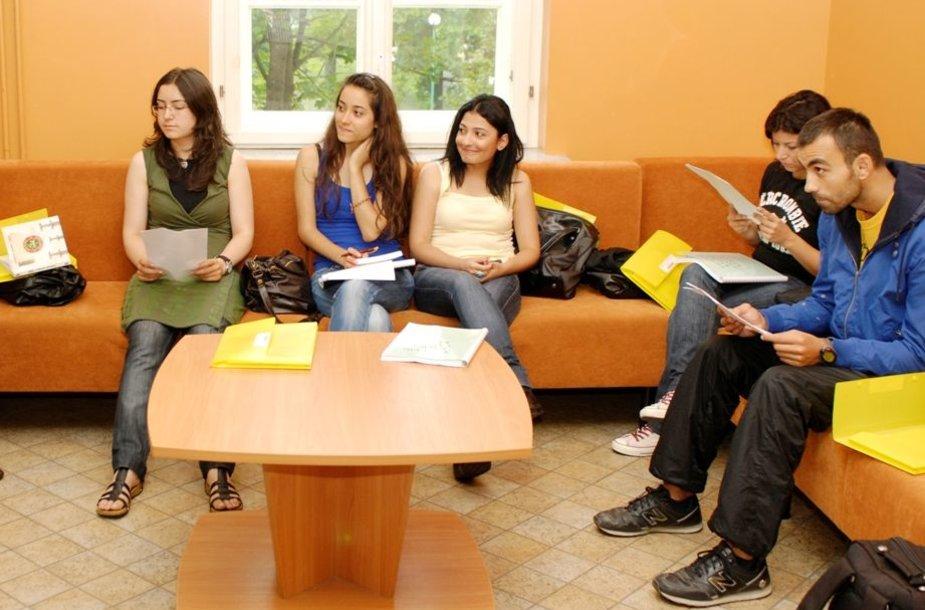 Klaipėdos universitete užsieniečiai mokysis lietuvių kalbos.