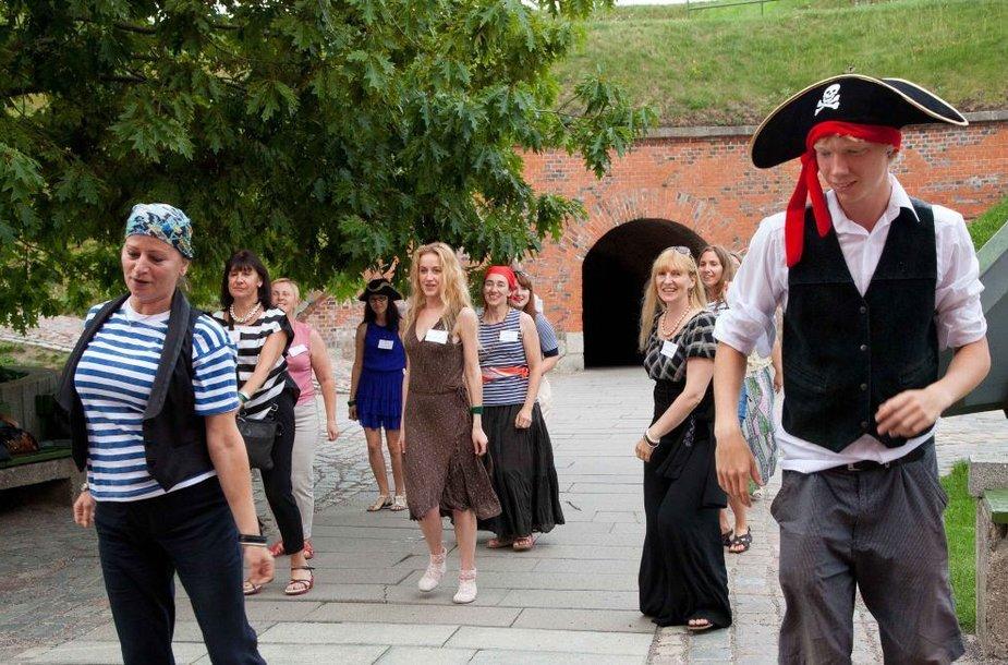 Jūrų muziejuje susirinkomuziejininkai iš Baltijos šalių.