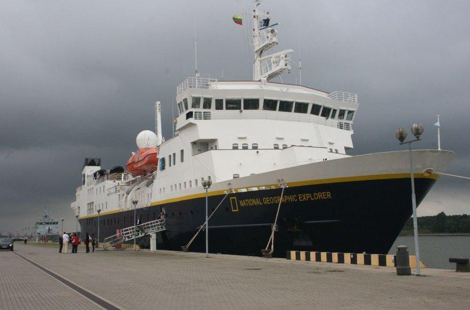 """Tyrimų laivas """"National Geographic Explorer"""""""