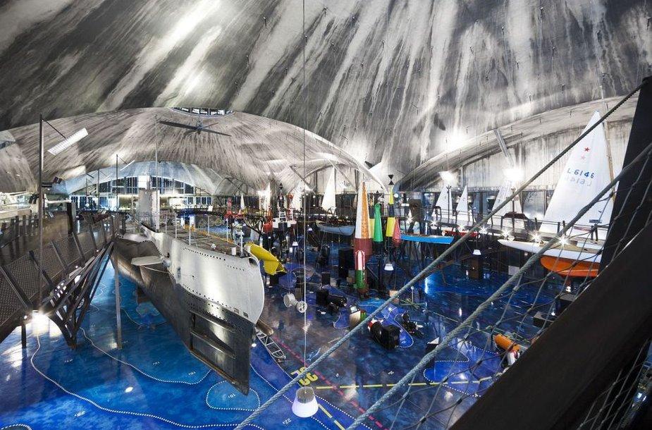 Taline atvertas Jūrų muziejus atveria jūrų transporto pasaulio paslaptis.