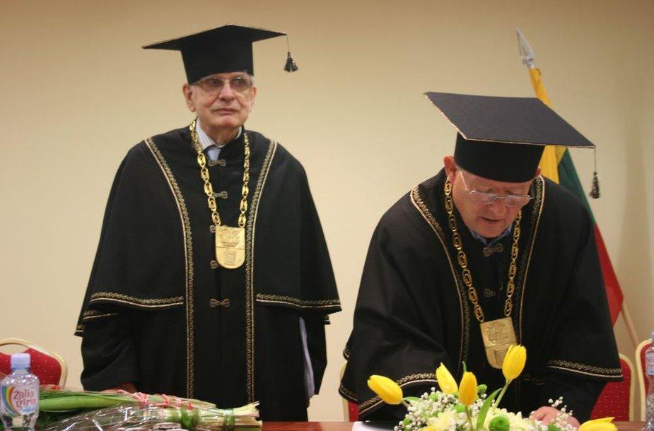 Tomas Venclova ir Adamas Michnikas