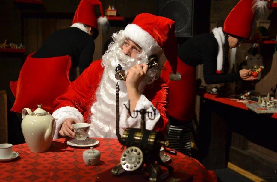 Klaipėdos lėlių teatre nuo gruodžio 1-osios apsigyvens Kalėdų Senelis.