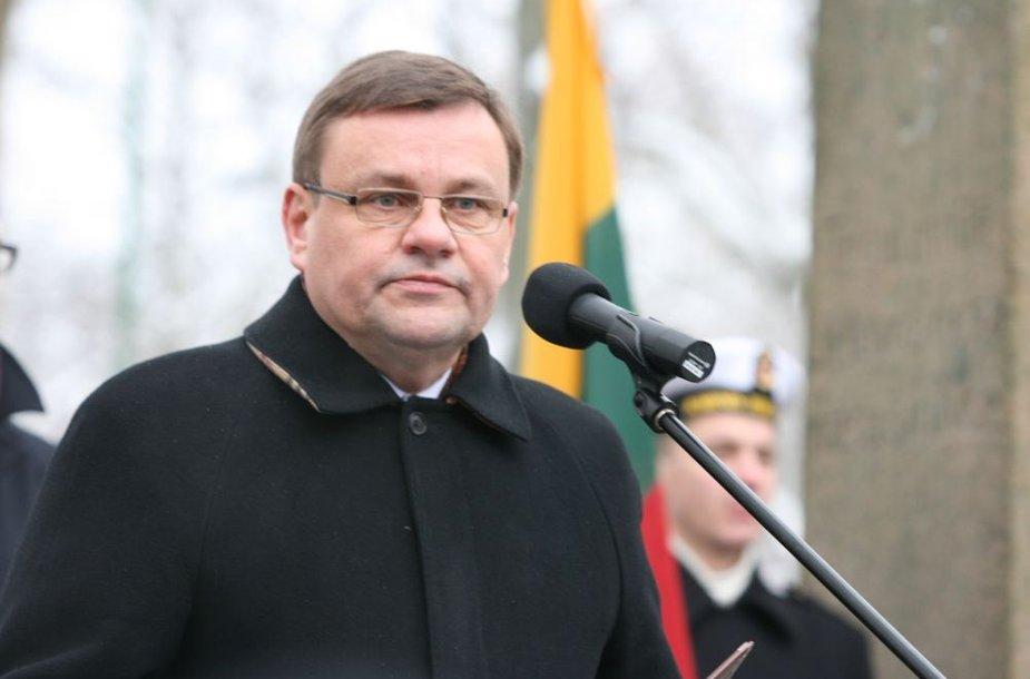 Seimo pirmininkas Vydas Gedvilas