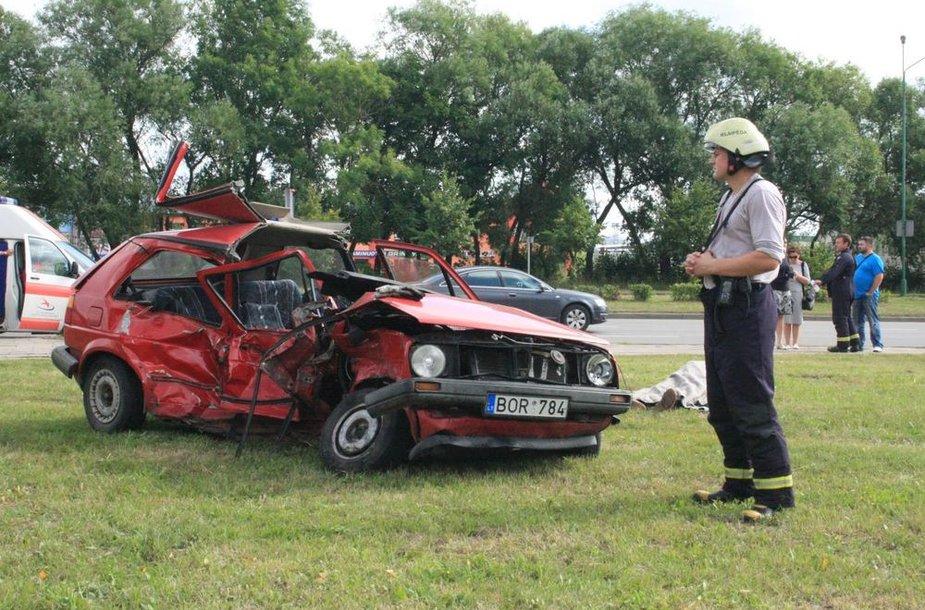 Tragiškai pasibaigusi avarija