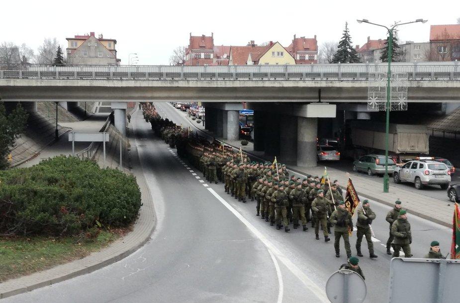 Karinis paradas Klaipėdoje