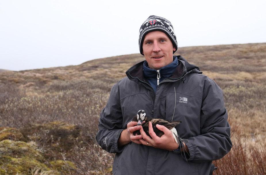 KU mokslininko Juliaus Morkūno įspūdžiai iš Arkties.