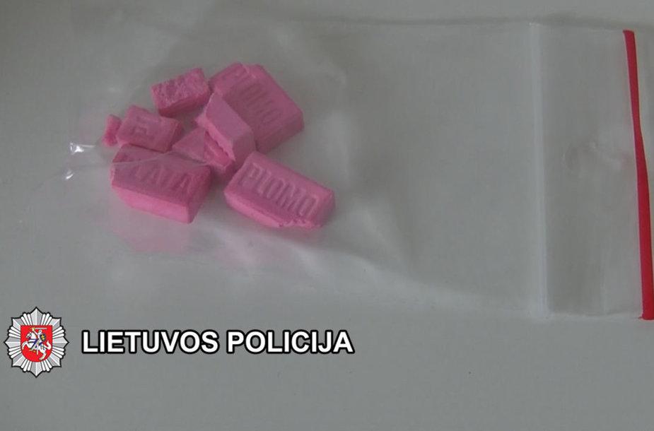 Pas įtariamuosius aptikti narkotikai.