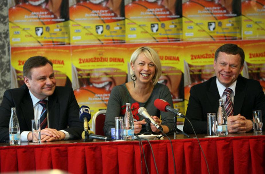 LMKL direktorė A.Ginelevičienė (viduryje) tikisi intriguojančio sezono.