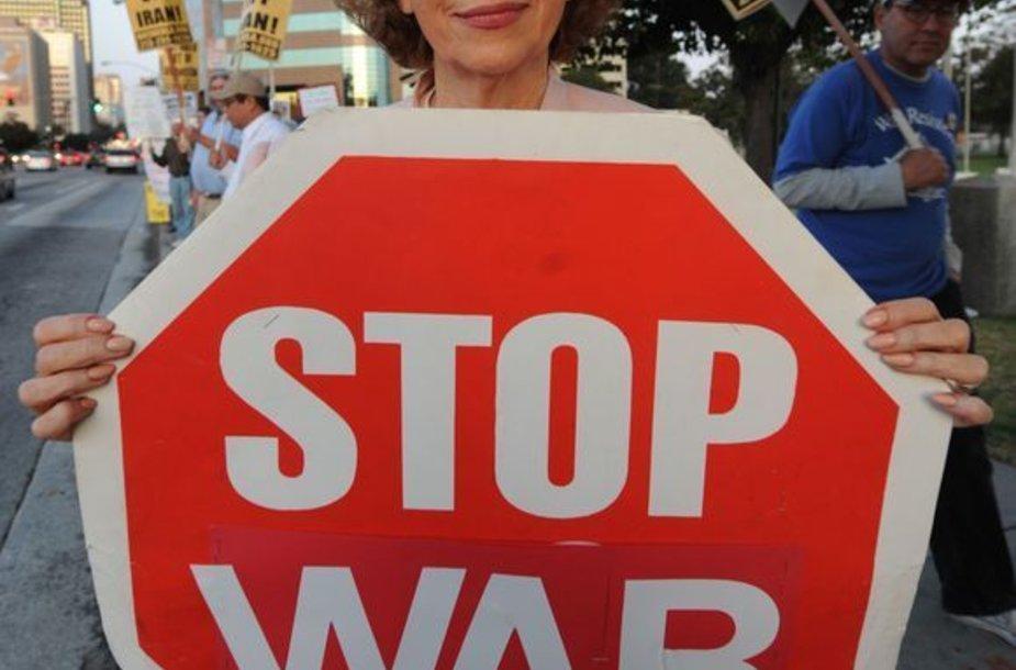 JAV gyventojų nepasitenkinimas karu Afganistane