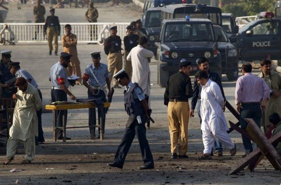 Incidentas sustiprins nerimą dėl Pakistano branduolinės programos saugumo