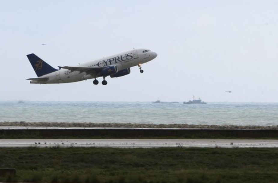 """""""Ethiopian Airlines"""" lėktuvo paieška"""
