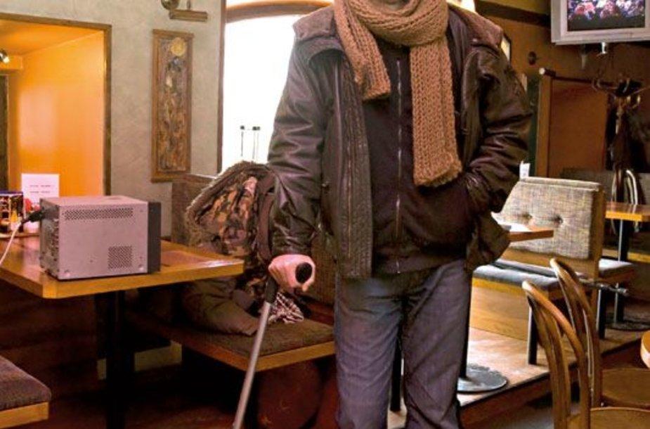 Foto naujienai: Saulius Balandis: rekvizito lobiai