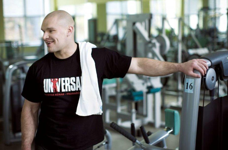 Foto naujienai: Ramūnas Vyšniauskas: daugiau jokių dietų!