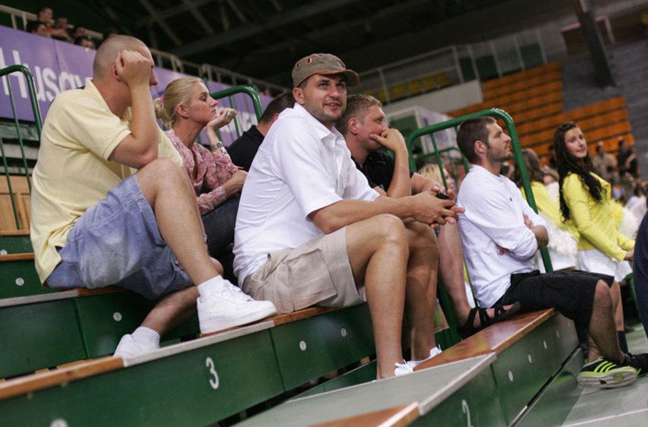 Foto naujienai: Linas Kleiza ir Andrius Čereška: lyg broliai