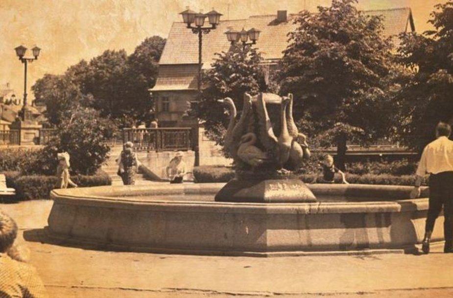 Klaipėdoje per Žolines atgis ir senasis fontanas.