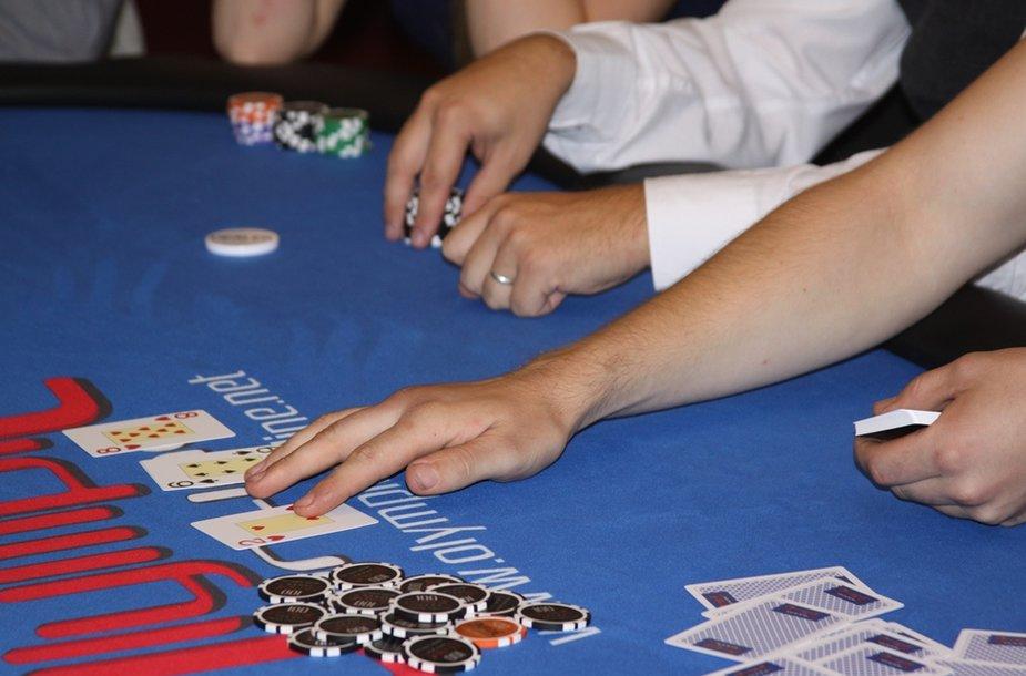 Pokerio namų atidarymo akimirkos