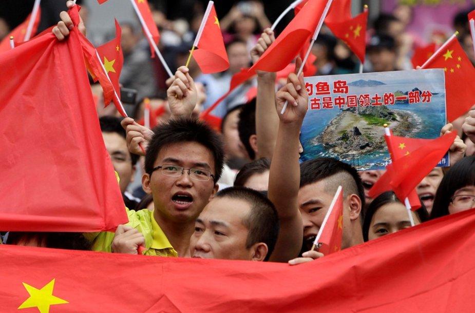 Protestai Kinijoje